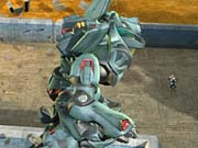 Gunmetal lets you play as an enormous robot that's capable of transforming into a jet.