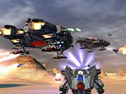 You'll have plenty of firepower at your disposal in both the robot and jet form.