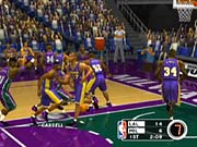 NBA Live 2003 is a fast five-on-five game of basketball.