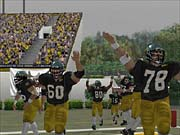 NCAA Football 2003 is the first college football game for the Xbox.