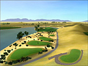 Tiger Woods PGA Tour 2003 makes much more liberal use of the dramatic camera effects introduced in PGA Tour 2002.