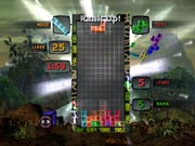 Though it offers a few variations, Tetris Worlds is basically just Tetris.