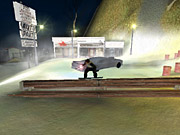 The game can be quite forgiving when it comes to landing tricks.