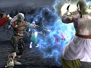 Kain's powers are actually a bit more advanced than Raziel's due to his advanced age.
