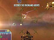 You'll find some easy battles against a few Rheinland ships.