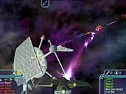 The satellite fight can be tricky if you don't take out the fighters first.