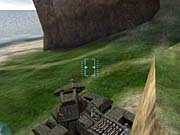 Put the nose of your Scorpion against a wall, spin the turret around, and frustrate those pesky snipers.