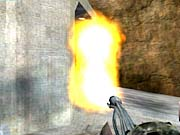 The flamethrower is a great defensive weapon, and can be used to effectively block an entire entranceway.