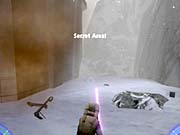 Hang a left past the Probe Droid for this secret area.