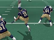Marshall Faulk is a weapon as a runner and a pass catcher.