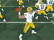 Brett Favre is the top rated quarterback in Madden.