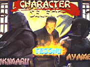 You can enter a cheat code to unlock the ability to play as the third single-player character, Tesshu.