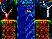 Much of the game involves leaping from one platform to the next.