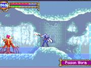 Castlevania in space? Not exactly, but Aria of Sorrow is a great game either way.