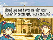 Characters are full of personality--and, in Sain's case, bad pickup lines.