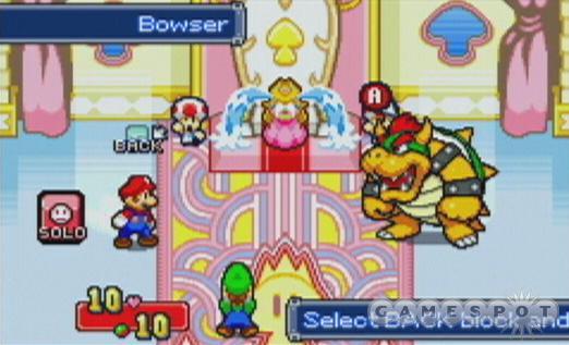 See screenshots of Mario & Luigi: Superstar Saga