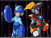 Mega Man and Bass have different skills.