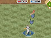 You're stuck with CPU-controlled fielders who couldn't reach a ball if their lives depended on it.