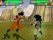 The gameplay in Dragon Ball Z Budokai is easy to pick up.