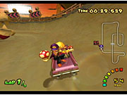 Double Dash!! offers more of the same Mario Kart action you've come to expect.