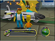 The Simpsons: Hit & Run lets you play as Homer, Bart, Lisa, Marge, and even Apu.