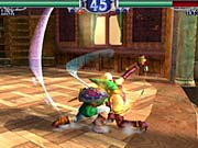 The characters in the game feature a high level of detail and fluid animation.