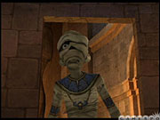 ...and the mummy.