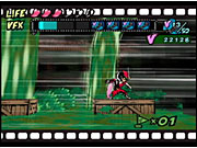 Tons of games have used and abused cel-shading over the last few years, but Viewtiful Joe is anything but stale in the graphics department.