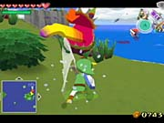 The combat in Ocarina of Time worked really well, so it's no surprise that the combat in The Wind Waker also works very well.