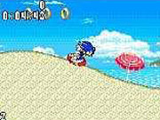 Neither the letterboxed nor the full-screen modes of SonicN work particularly well for the Sonic gameplay style.