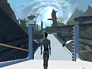 The game features huge, imaginative environments.