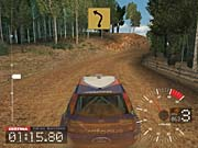 Colin McRae racing in his Ford Focus.