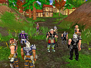 You can meet at outposts to form questing teams.