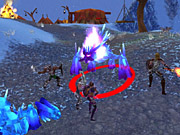 This might be a good area to use the fire arrow enchantment.