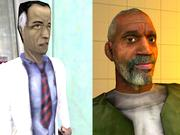 Dr. Eli is another returning character who provides an example of the sequel's improved graphics.