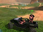 Halo's vehicles are fun and easy to drive, and they're great in multiplayer.