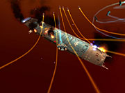 Homeworld 2 will put you in command of space fleets made of tiny fighters and huge capital ships.