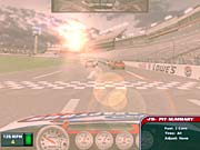 NASCAR Racing 2003's sun effects are simply stunning.