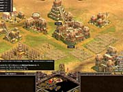 Rise of Nations successfully incorporates many turn-based strategy conventions, like cities and national borders.