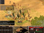 In Rise of Nations, the stakes of city warfare are much higher--instead of destroying an enemy city, you assimilate it.