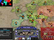 Rise of Nations has no story-based campaign or prebuilt scenarios, but it does have a single-player mode that resembles Risk.