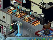 A common sight in The Sims Online. Many players use skill objects at once to increase their skills.