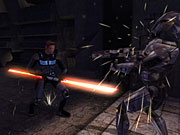 Jedi are able to kill people with their minds, but it's good to carry a double-bladed lightsaber just in case.