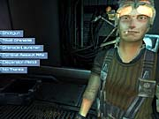 Unreal II borrows a few elements from RPGs. Unfortunately, it borrows the dreaded dialogue tree.