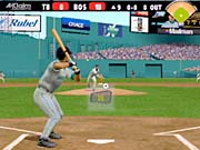 The tilt and swivel batting cursor is the game's trademark feature.