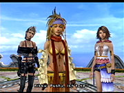 Paine joins Yuna and Rikku in FFX-2.