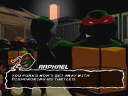 Teenage Mutant Ninja Turtles bases its gameplay style after the classic TMNT beat-'em-up titles, but it doesn't quite capture your attention the way those titles did.