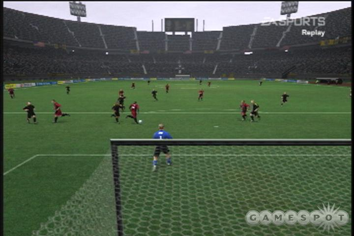 Fans of previous FIFA games, or fans of any soccer games for that matter, shouldn't have too much difficulty picking up FIFA 2004.
