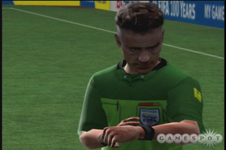 FIFA Soccer 2004 features more than 350 real teams from all over the world.