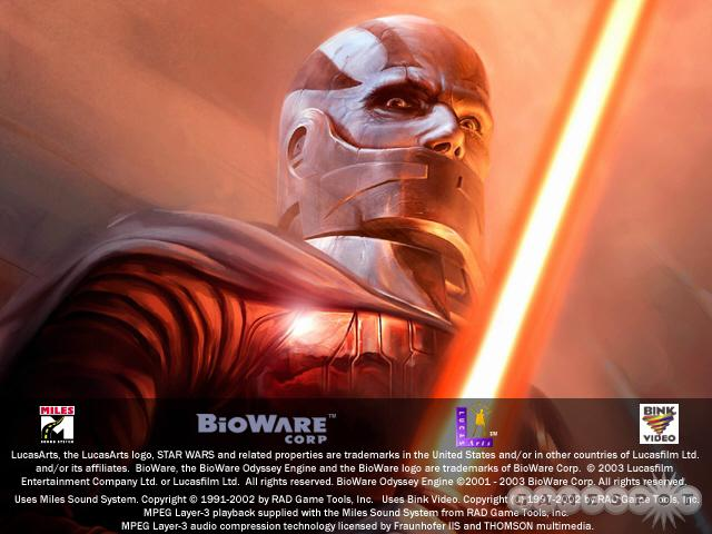 See screenshots of Star Wars: Knights of the Old Republic